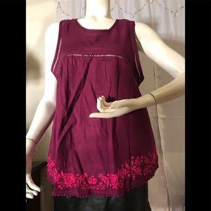 Authentic American heritage sleeveless top